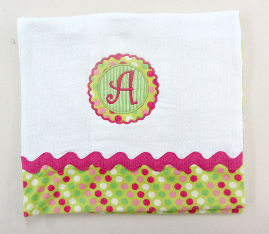 custom burp cloth