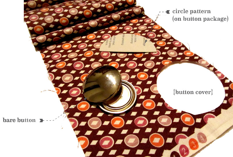 covering a button