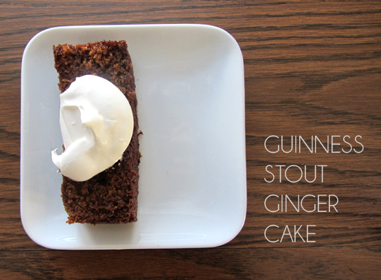 Guinness-Stout Ginger Cake