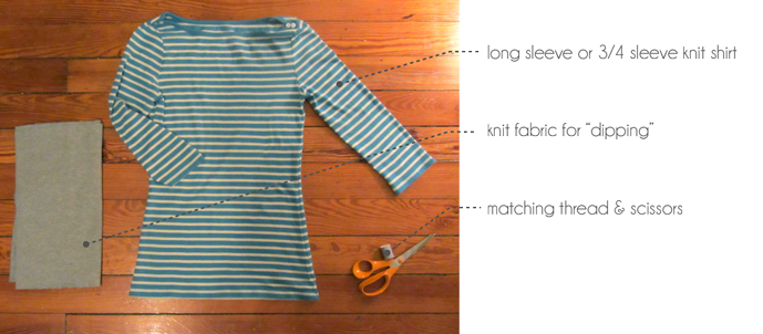 diy anthropologie inspired tee