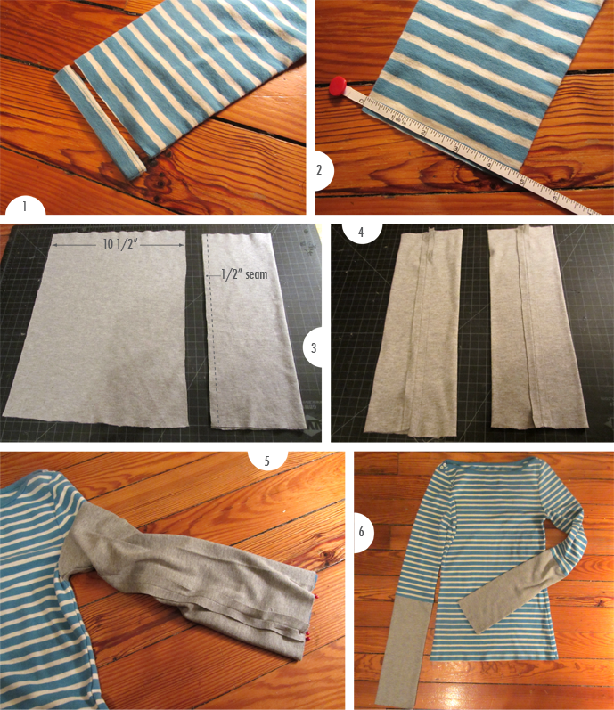 Anthropologie inspired tee DIY