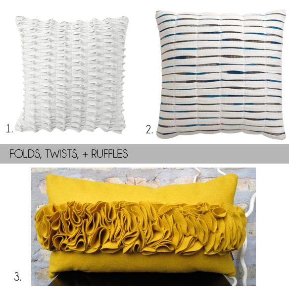 fabric pillows