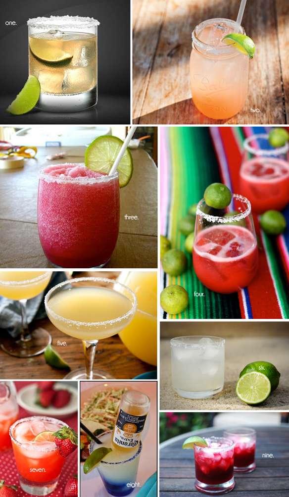 margarita recipe round up