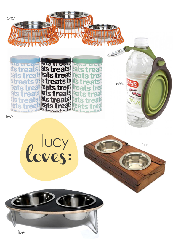 lucy loves - dining in style