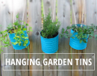 Hanging Garden Tins