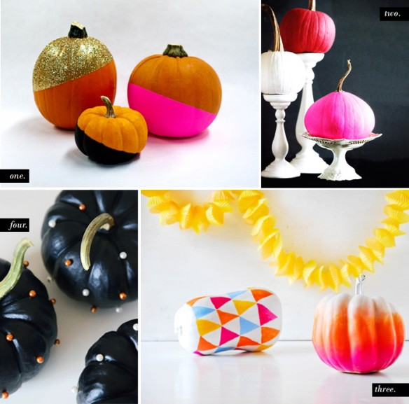 DIY Painted Pumpkin Roundup