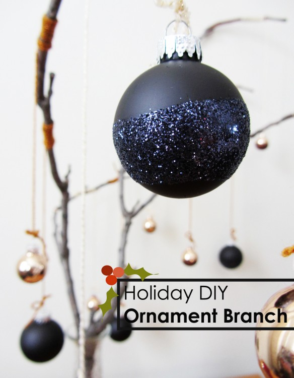 Ornament branch diy :: stuff steph does