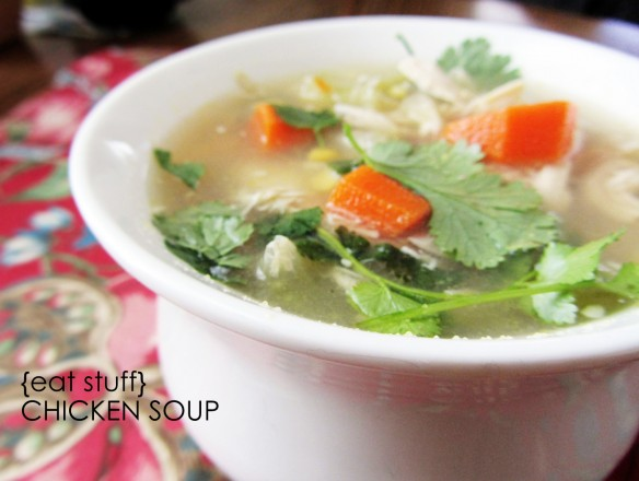 Easy Chicken Soup Recipe | Stuff Steph Does