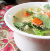 {eat stuff} Chicken Soup
