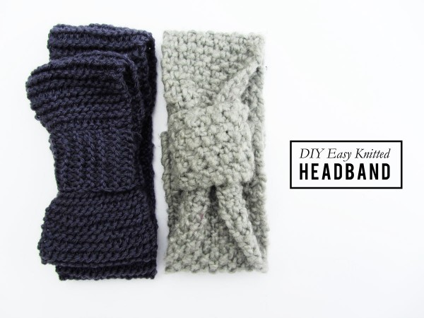 newbie knitted headband :: stuff steph does