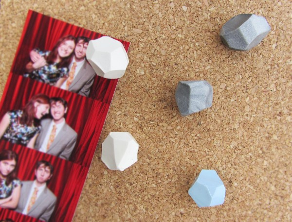 diy geometric thumb tacks | stuff steph does