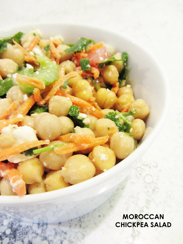 moroccan chickpea salad recipe