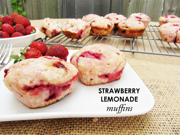 Strawberry Lemonade Muffins recipe
