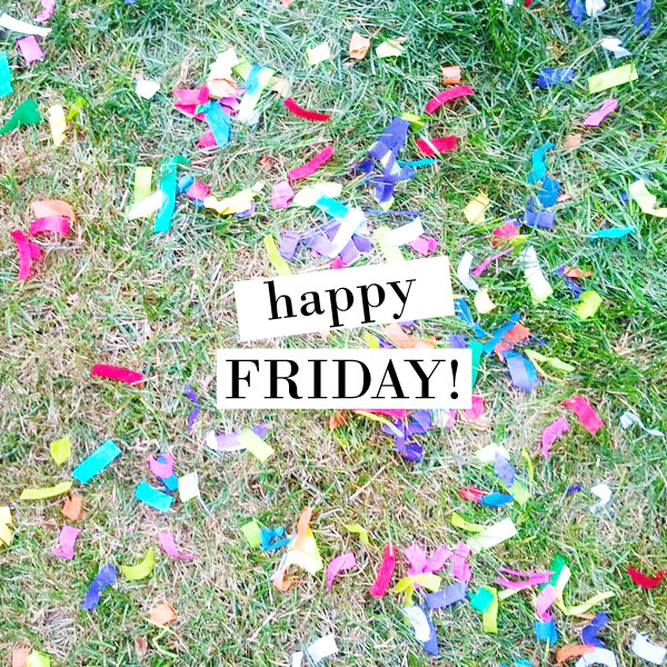 confetti friday
