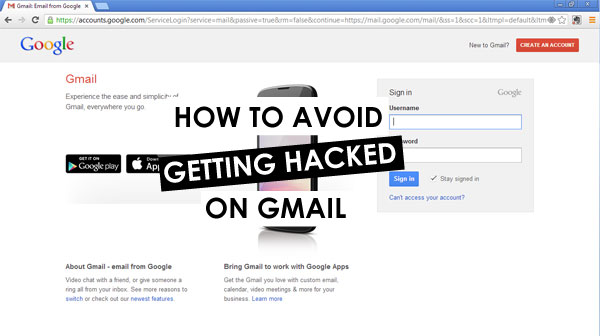 how to avoid a gmail hack