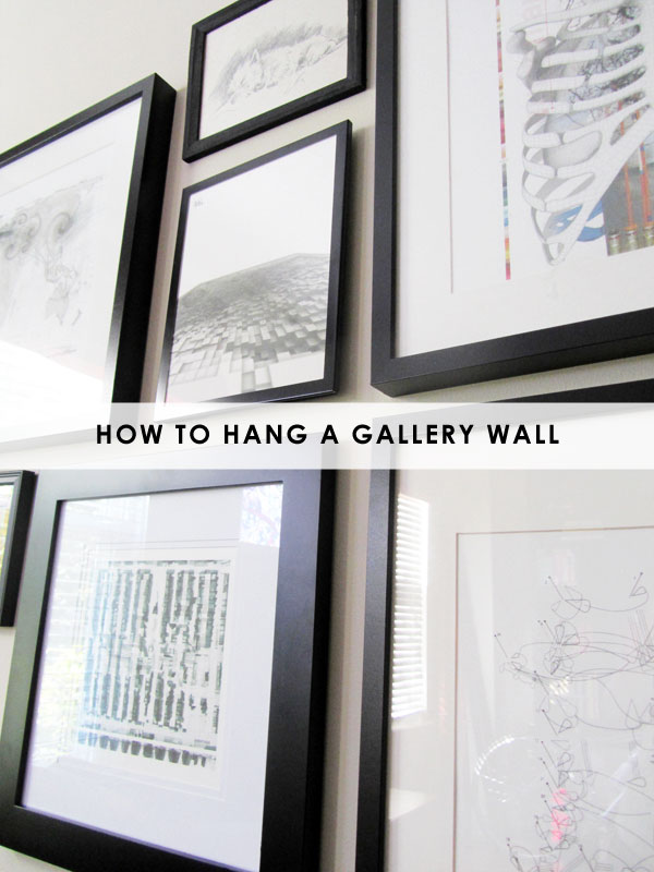 how to hang a gallery wall | stuff steph does