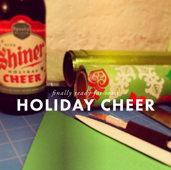 holiday cheer