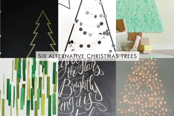 geometric christmas tree