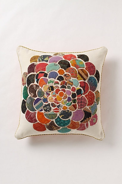orimono pillow anthropologie