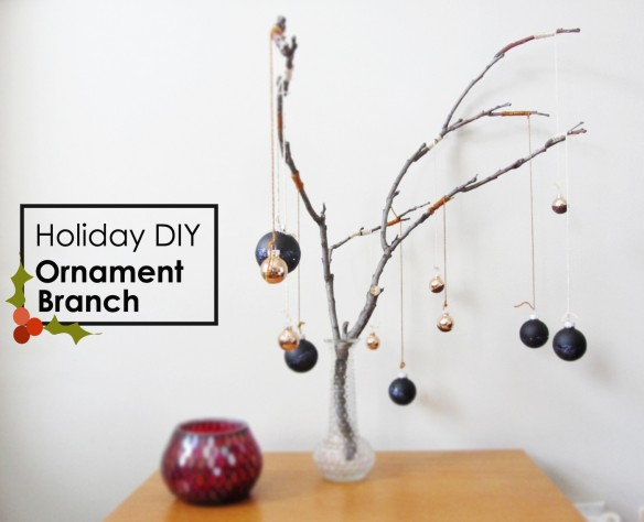 DIY Ornament Branch :: stuff steph does