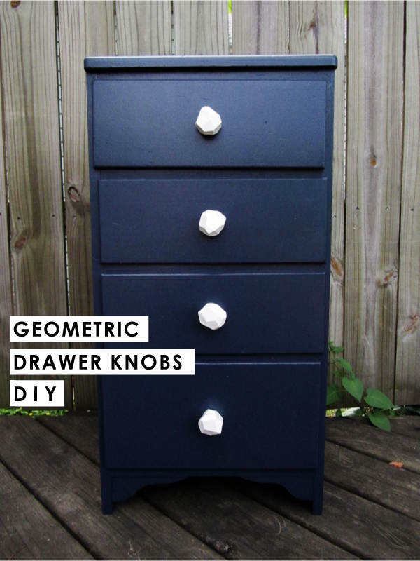 Geometric Drawer Pulls | Stuff Steph Does
